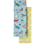 Cath Kidston Dogs Set Of Two Tea Towels