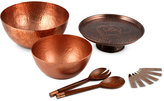 Thirstystone Hammered Copper Serveware Collection