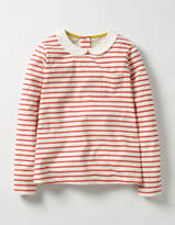 Boden Collared Jersey Top