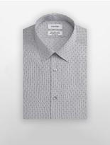 Calvin Klein X Fit Ultra Slim Fit X-Print Dress Shirt