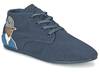 Eleven Paris BASTEE women's Shoes (Trainers) in Blue