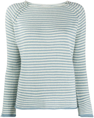 Forte Forte Striped Raglan-Sleeves Jumper