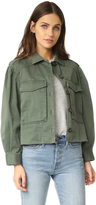 Rebecca Taylor Luxe Twill Jacket
