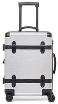 CalPak Trunk 22-Inch Rolling Suitcase - Grey