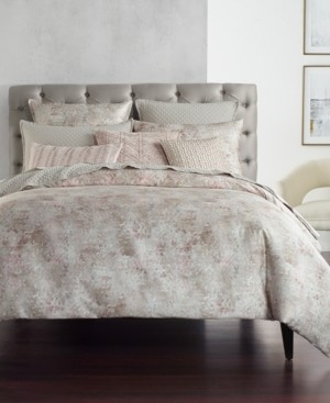 Hotel Collection Speckle Cotton Printed Twin Duvet Cover, Created for Macy's Bedding