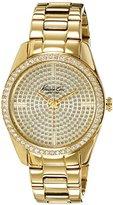 Kenneth Cole New York Women's KC4957 Crystal-Accented Gold-Tone Watch