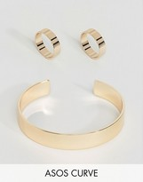 Asos Exclusive Pack of 3 Sleek Ring and Cuff Pack