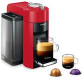 Nespresso Vertuo Coffee and Espresso Machine by De'Longhi, Shiny Red