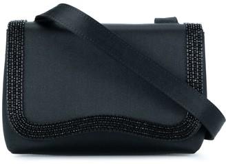Chanel Pre Owned 1997-1999 CC logos beads shoulder bag