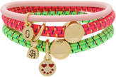 Marc Jacobs logo charm hair ties