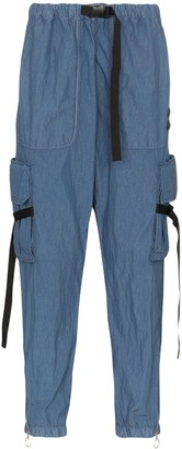 Off-White denim cargo trousers