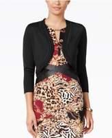 Thalia Sodi Chiffon-Trim Bolero Cardigan, Created for Macy's