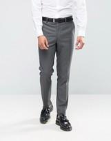 Farah Skinny Dogtooth Suit Pants
