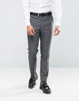 Farah Skinny Dogtooth Suit Trousers