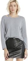 Sole Society Slash Supersoft Sweatshirt
