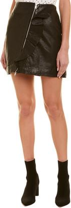 Walter Baker Venus Leather Skirt