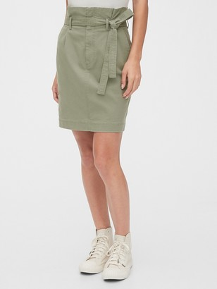 Gap Paperbag Mini Skirt in TENCEL