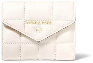 MICHAEL Michael Kors Medium Quilted Leather Envelope Wallet