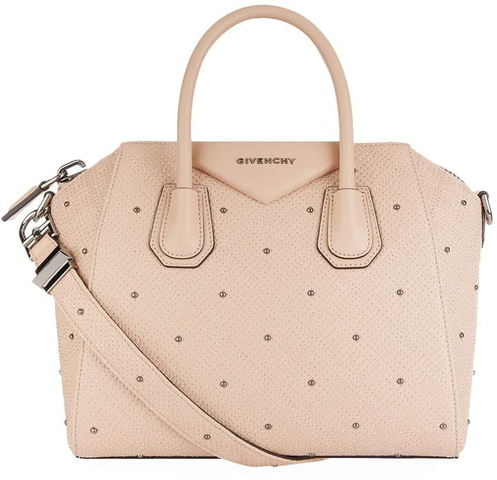 Givenchy Small Embossed Antigona Tote Bag