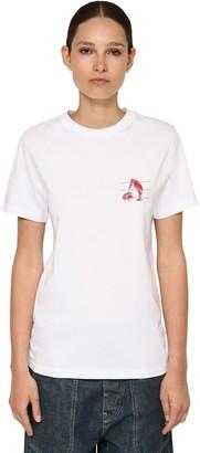 Loewe Animals Printed Cotton Jersey T-Shirt