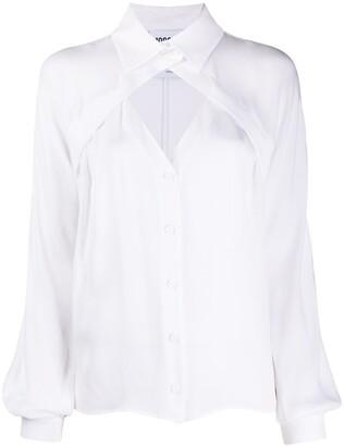 Moschino Cut-Out Detail Shirt