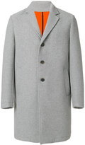 MSGM classic single-breasted coat - men - Acrylic/Polyamide/Polyester/Wool - 48