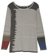 Nic+Zoe Plus Size Women's Metro Stripe Sweater