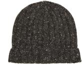 Brunello Cucinelli Ribbed-knit wool-blend beanie hat