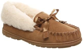 BearPaw Indio Genuine Sheepskin Fur Lined Moccasin