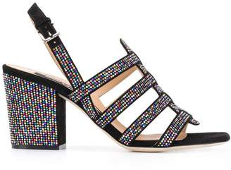 Sergio Rossi stud detailed sandals