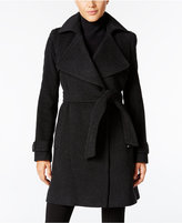 MICHAEL Michael Kors Wool-Cashmere-Blend Belted Walker Coat