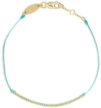 Redline 18kt yellow gold Eclipse string bracelet