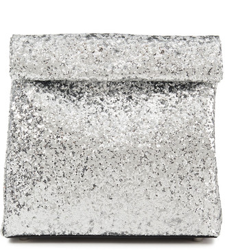 Simon Miller Lunchbag 20 Glittered Leather Clutch