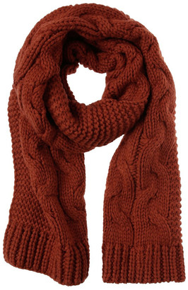 Piper Knitted Cable Winter Scarf