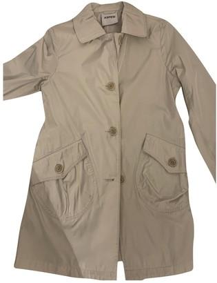 Aspesi Grey Trench Coat for Women