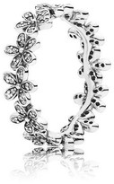 Pandora Dazzling Daisy Chain Ring In 925 Sterling Silver W/clear Cubic Zircon...
