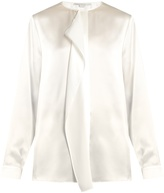 Stella McCartney Goldie ruffled silk-satin blouse