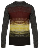 Bottega Veneta Dégradé-striped wool-knit sweater