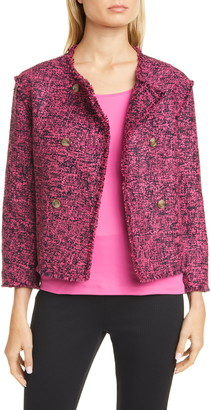 BOSS Jeljana Tweed Short Jacket