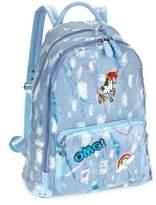 Unicorn Splatter Denim Backpack