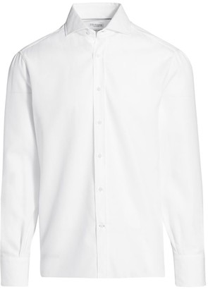 Brunello Cucinelli Textured Sport Shirt
