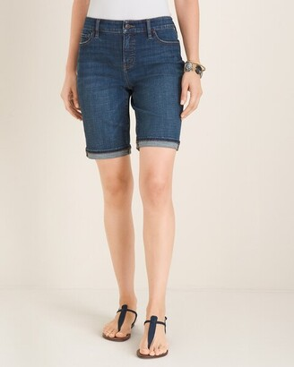 So Slimming Girlfriend Shorts- 9 Inch Inseam