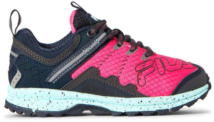 0d279d0e Toddler/Kids Girls) Pink & Grey Blowout 19 Running Sneakers