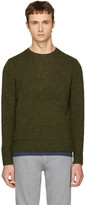 A.P.C. Green Salford Sweater