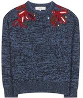 Vanessa Bruno Embroidered Wool Sweater