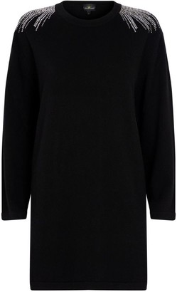 William Sharp Embellished Cashmere Dress