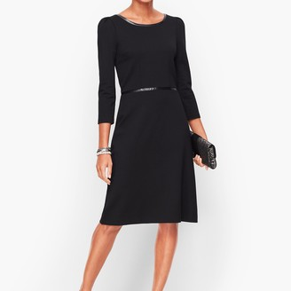 Talbots Refined Ponte Dress