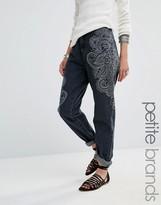 Glamorous Petite Paisley Printed Jean