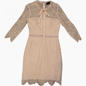 The Kooples SS18 Pink Lace Dress for Women