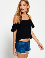 Superdry Peekaboo Palm Cami Top